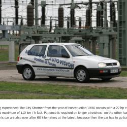 Golf MK3 Citystromer Electric Vehicle Article5