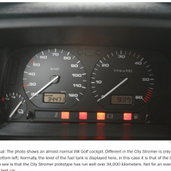Golf MK3 Citystromer Electric Vehicle Article6