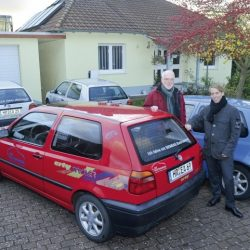Golf MK3 Citystromer Electric Vehicle0