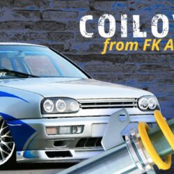 Win FK AK Street Coilovers for your Golf MK3